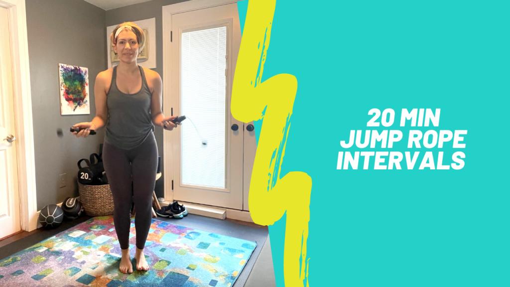 Jump Rope Intervals 3.5.21